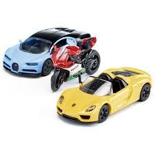 <b>SIKU</b> Набор спортивные <b>машины</b> и <b>мотоцикл</b> артикул 6313 ...