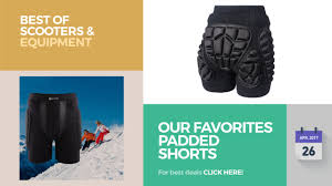 Our Favorites Padded Shorts Best Of Scooters & Equipment - YouTube