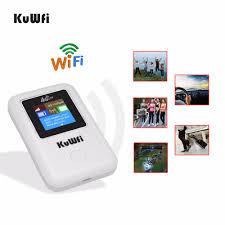 <b>KuWFi</b> Wireless Wifi Router <b>Unlocked 4G LTE</b> Router Portable ...