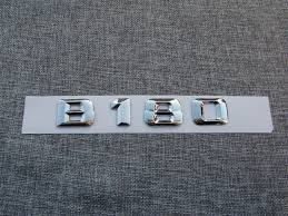 <b>Chrome 3D ABS Plastic</b> Car Trunk Rear Letters Badge Emblem ...