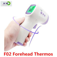 F02 Forehead Thermometer Non-Contact Infrared Thermometer ...