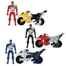 <b>Игровой</b> набор <b>BANDAI</b> Могучие рейнджеры мотоцикл + <b>фигурка</b> ...