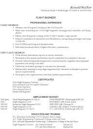 sample resume flight engineer resume template functional