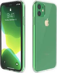 Прозрачный <b>силиконовый чехол</b> для iPhone 11 (Айфон 11 ...
