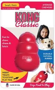 <b>Kong Игрушка</b> для собак <b>Classic</b> S малая 7х4 см купить по ...