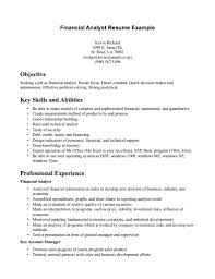 doc financial analysis resumes template com 7911024 financial analysis resumes template finance resume skills