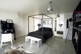 bedroom light home lighting interior black and white industrial bedroom bed lighting home