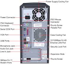 best images of computer tower  s diagram   computer tower    back of computer tower diagram