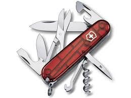 <b>Мультитул Victorinox Climber 1.3703</b>.Т Translucent Red, цена 1 ...