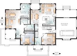 Full In Law Suite on Main Floor   DR   st Floor Master Suite    Floor Plan