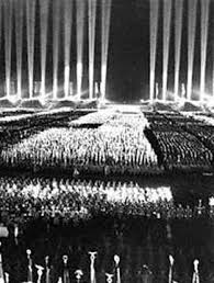 Image result for nazi night rally