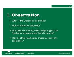 starbucks brand strategy experience design on behance