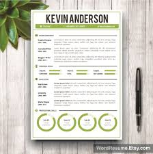 Word Resume Template   Cover Letter  u      u   cKevin Anderson u   d   buy a happytom co
