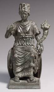art of the r provinces 1 500 a d essay heilbrunn statuette of a personification of a city