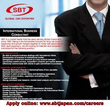 sbt co linkedin sbt smc pvt is hiring international business consultant please apply online on sbt com careers