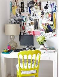 Decorating Small And Pretty Home Office Isnu002639t That Hard A Cute Chair Could