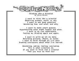 scientific process poem for elementary kids teacher treasures scientific process poem for elementary kids
