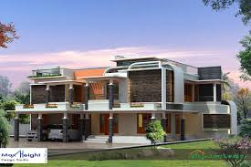 Contemporary   Kerala House Designs and floor plans square meter contemporary house elevation   bedrooms