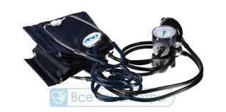 <b>Тонометр AND UA-100</b> механический, встроенный стетоскоп