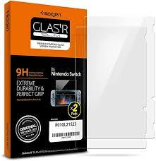 Spigen Nintendo Switch <b>Screen Protector Tempered</b> Glass / 2 Pack ...