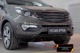 Тюнинг <b>обвес переднего бампера</b> KIA Sportage - Русская Артель