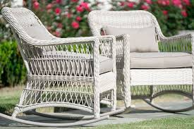 Antique White Leisure Made Pearson <b>Outdoor Rocking Chairs 2</b> Pack