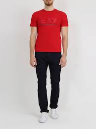 <b>Фуфайка EA7 Emporio Armani</b> Мужская футболка с логотипом ...