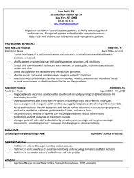 registered nurse resume examples best resume web registered nurse registered nurse resume sample sample of rn resume