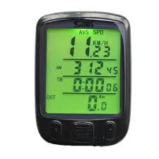 Odometer <b>Waterproof Digital LCD</b> Cycle Bicycle Bike Computer ...