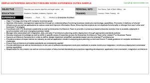 resume of john joseph roets. effective resume and presentation ...