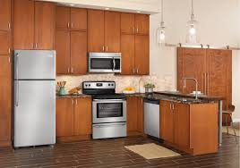 Lacks Frigidaire Stainless Steel Kitchen Appliance Package With
