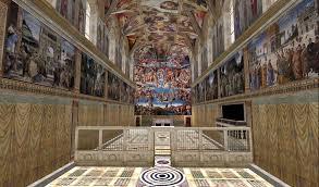 Resultado de imagen de capilla sixtina