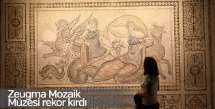 Zeugma Mozaik Müzesi rekor kırdı