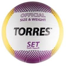 «<b>Мяч волейбольный TORRES</b> Set V30045, размер 5 ...