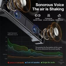 <b>Lenovo TS32</b> Desktop Speaker 6D Stereo Surround Sound ...