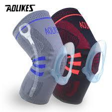 AOLIKES <b>1PCS Fitness</b> Running <b>Knee</b> Support Protect <b>Gym</b> Sport ...
