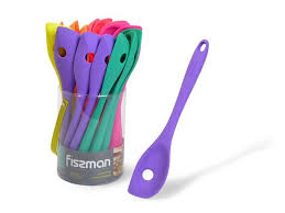 1322 FISSMAN <b>Ложка с отверстием</b> IRIS 27см 6 цветов в ...