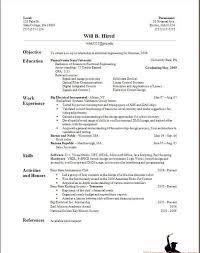how to type resume   best template collectionhow to type resume on mac