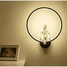[DBF] Modern Art Angel Wall Lamps LED Lamps <b>Nordic Creative</b> ...