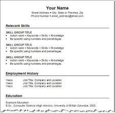 combination resume template resume template combination free resume resume examples examples of teenage resumes