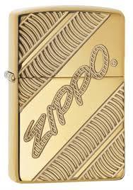 <b>Зажигалка Zippo Armor</b>® с покрытием High Polish Brass, 29625 на ...