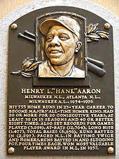 "Image result for Henry Louis ""Hank"" Aaron (1934)"