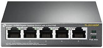 <b>TP</b>-<b>Link TL-SG1005P</b> 5-Port Gigabit PoE Ethernet Switch (4 PoE ...