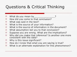 Critical thinking powerpoint for kids creative writing courses at     The Elements of Reasoning and Intellectual Standards