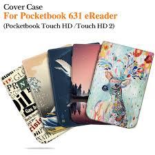 <b>BOZHUORUI</b> Smart <b>Cover</b> For Pocketbook 631 Touch HD/Touch HD ...