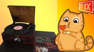 Недораспаковка <b>винилового проигрывателя ION</b> Audio TRIO <b>LP</b> ...