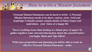 writing personal mission statement case statement  writing personal mission statement jpg
