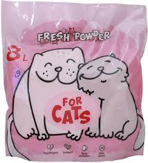 <b>FOR CATS Наполнитель силикагелевый</b> Fresh Powder (звездная ...