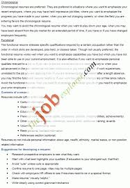 combination resume format 2016 formats for resumes
