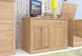 oak hidden home office sideboard desk modern light oak office desks online buy solid oak furniture baumhaus mobel solid oak
